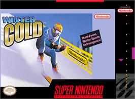 Box cover for Winter Gold on the Nintendo SNES.