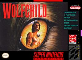 Box cover for Wolfchild on the Nintendo SNES.
