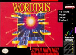 Box cover for Wordtris on the Nintendo SNES.