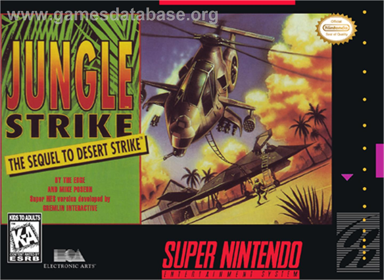 Jungle Strike - Nintendo SNES