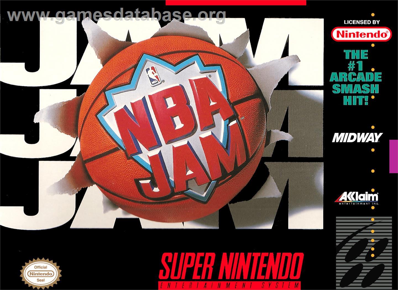 Nba Jam Nintendo Snes Games Database