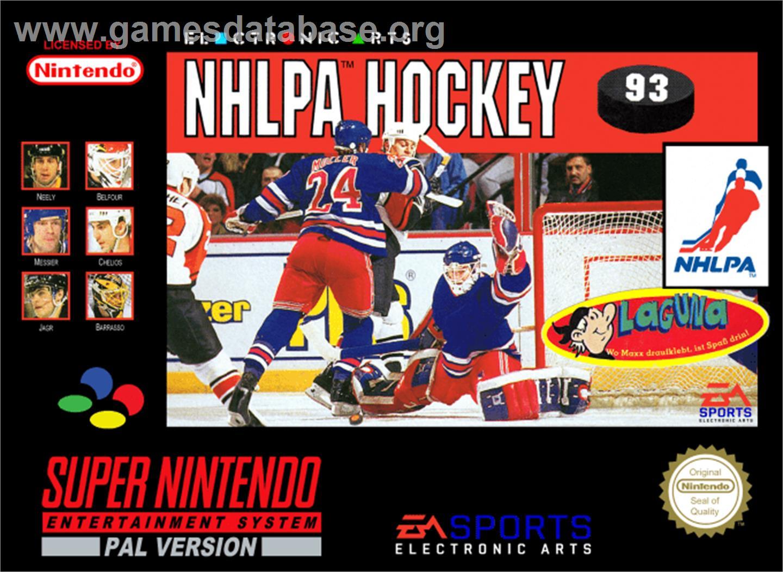 Nhlpa Hockey 93 Nintendo Snes Games Database