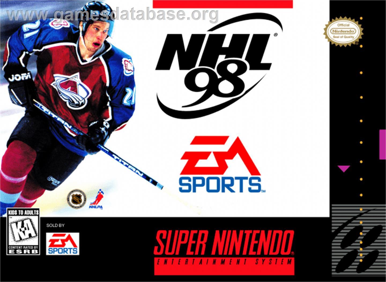 Nhl 98 Nintendo Snes Games Database
