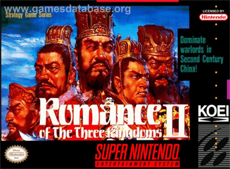 Romance Of The Three Kingdoms Ii Nintendo Snes Games Database