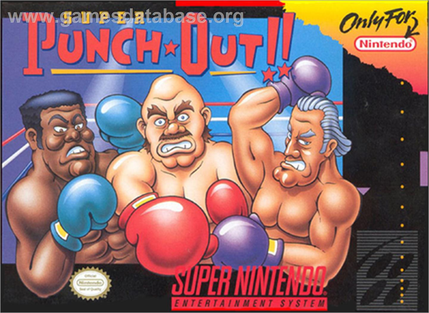 Super Punch-Out!! - Nintendo SNES - Artwork - Box