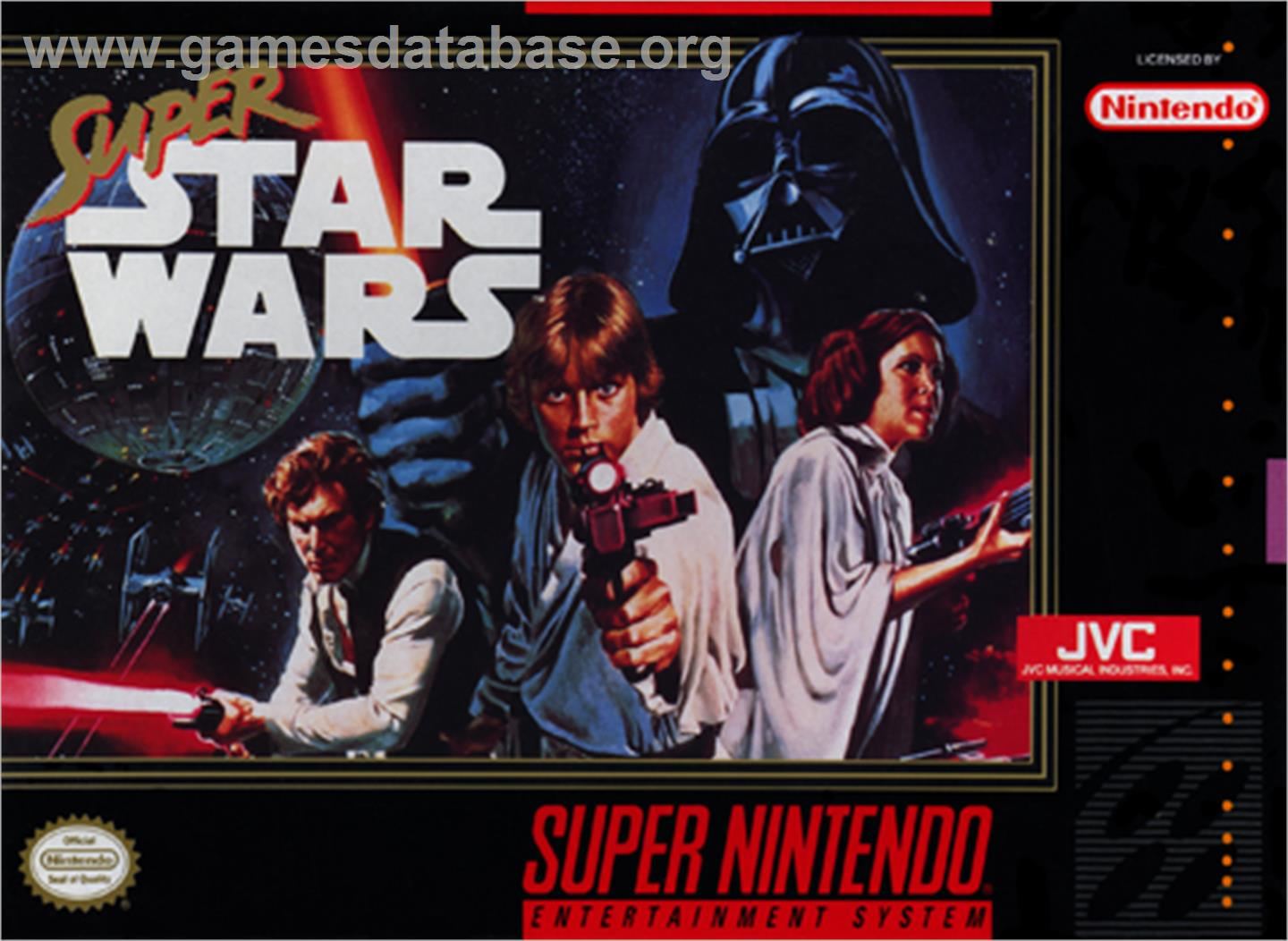 Super Star Wars - Nintendo SNES - Artwork - Box