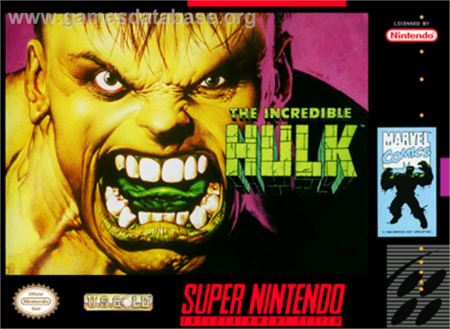 The Incredible Hulk Nintendo Snes Games Database