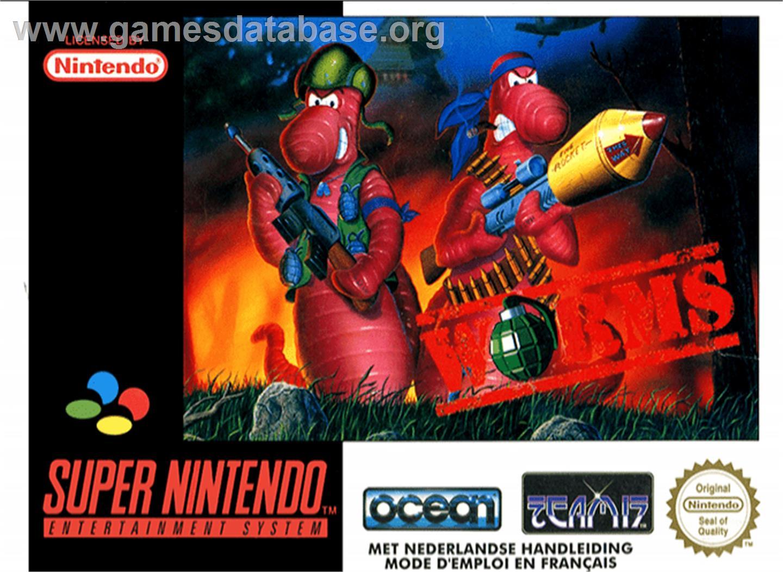 Worms Nintendo Snes Games Database