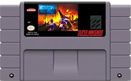 Cartridge artwork for Clay Fighter 2: Judgement Clay on the Nintendo SNES.