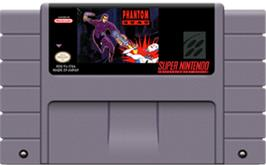Cartridge artwork for Phantom 2040 on the Nintendo SNES.