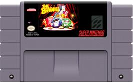 Cartridge artwork for The Brainies on the Nintendo SNES.