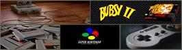 Arcade Cabinet Marquee for Bubsy II.