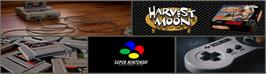 Arcade Cabinet Marquee for Harvest Moon.