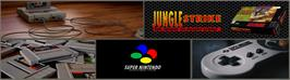 Arcade Cabinet Marquee for Jungle Strike.