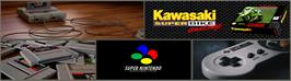 Arcade Cabinet Marquee for Kawasaki Superbike Challenge.