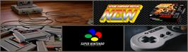 Arcade Cabinet Marquee for Natsume Championship Wrestling.