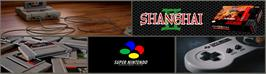 Arcade Cabinet Marquee for Shanghai II: Dragon's Eye.