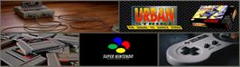 Arcade Cabinet Marquee for Urban Strike.