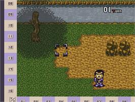 In game image of Ball Bullet Gun: Survival Game Simulation on the Nintendo SNES.