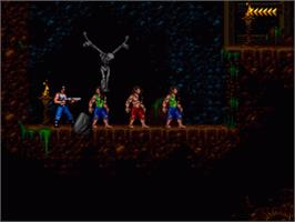 In game image of Blackthorne on the Nintendo SNES.