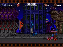 In game image of Cool World on the Nintendo SNES.