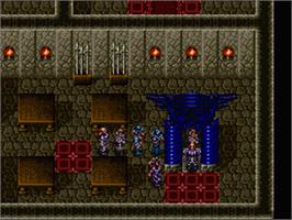 In game image of Dark Kingdom on the Nintendo SNES.