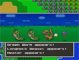 In game image of Dragon Quest V: Tenkuu no Hanayome on the Nintendo SNES.