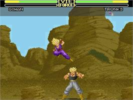 In game image of Dragon Slayer: The Legend of Heroes on the Nintendo SNES.