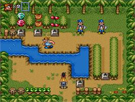 In game image of Goof Troop on the Nintendo SNES.