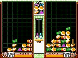 In game image of Kunio no Oden on the Nintendo SNES.
