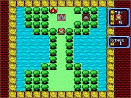 In game image of Little Magic on the Nintendo SNES.