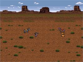 In game image of Live a Live on the Nintendo SNES.