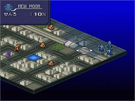 In game image of Majin Tensei II: Spiral Nemesis on the Nintendo SNES.