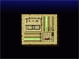 In game image of Mario no Super Picross on the Nintendo SNES.