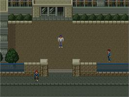 In game image of Mouryou Senki Madara 2 on the Nintendo SNES.