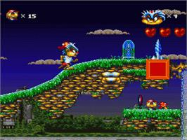 In game image of Oscar on the Nintendo SNES.