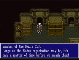 In game image of Rudra no Hihou on the Nintendo SNES.