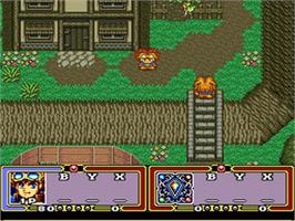 In game image of Ruin Arm on the Nintendo SNES.