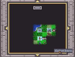 In game image of Sid Meier's Civilization on the Nintendo SNES.