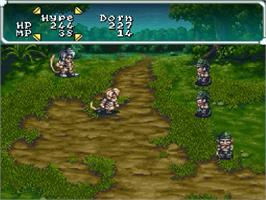 In game image of Star Ocean on the Nintendo SNES.