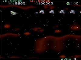 In game image of Super Nova on the Nintendo SNES.