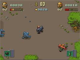 In game image of The Chaos Engine on the Nintendo SNES.