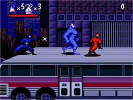In game image of The Tick on the Nintendo SNES.