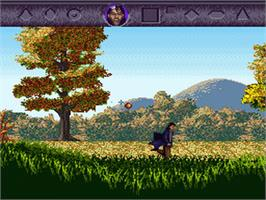 In game image of Warlock on the Nintendo SNES.