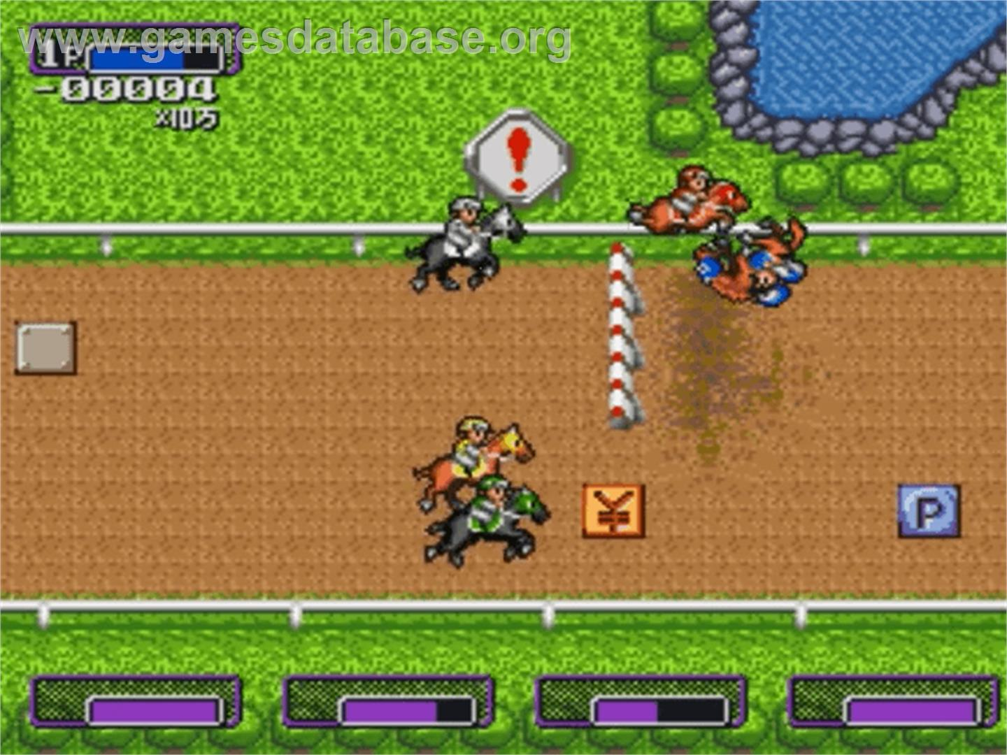Battle Jockey - Nintendo SNES - Artwork - In Game