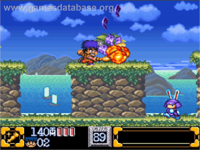 of Ganbare Goemon 2: Kiteretsu Shogun Magginesu on the Nintendo SNES