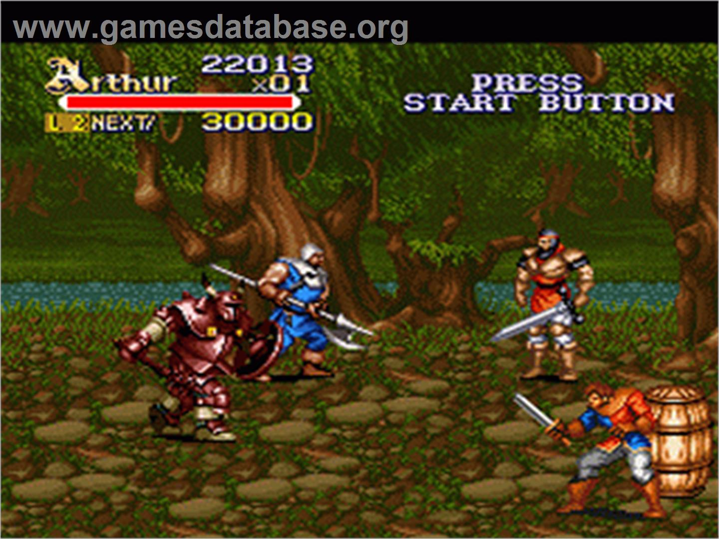 Knights Of The Round Nintendo Snes Games Database
