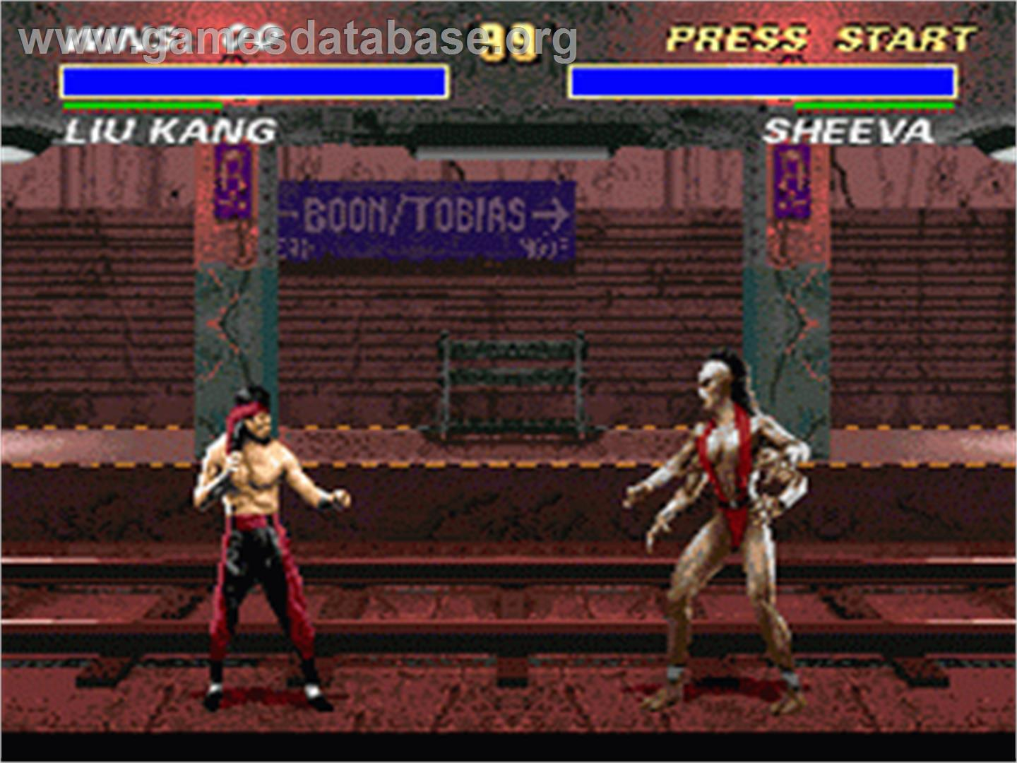 Mortal Kombat 3 - Nintendo SNES - Artwork - In Game