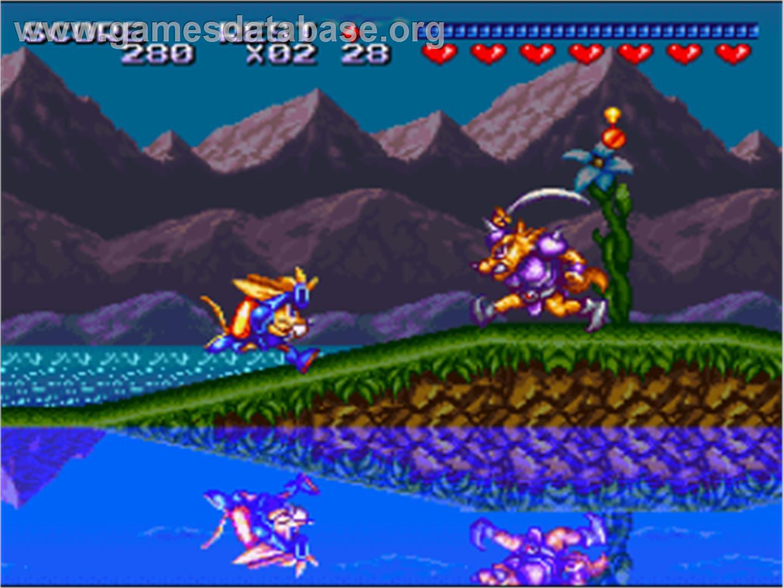Sparkster Nintendo Snes Games Database