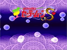 Title screen of Bishoujo Senshi Sailor Moon S: Kurukkurin on the Nintendo SNES.
